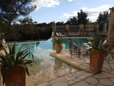 Photo for The Olive Mountains, Estate, apartment 2 persons in villa, with swimming pool