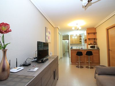 Photo for Modern 1 BR apartment in the center of Torrevieja, near the sea