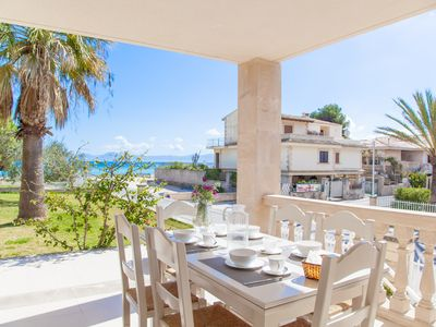 Photo for SUN OF THE BAY 1 (VIDALBA B3 - A1) - Apartment with sea views in Port d'Alcudia.
