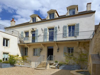 Photo for Chez Hall - La Grande Maison, Stunning 17th C Winemakers Home, Central Meursault