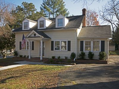 Photo for Relax with Family and Friends in this Charming Cape Close to Williamsburg