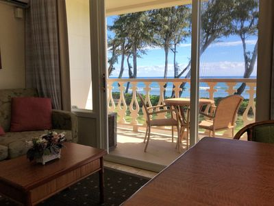 Photo for Beautiful Oceanfront/Beachfront Studio w/ Private Lanai