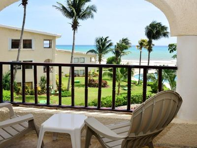 Photo for Our Most Popular 1 Bedroom Oceanfront Condo at Xaman Ha! Come See Why! (7116)