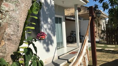 Photo for House in Itaúna, with barbecue and private pool, quiet place.