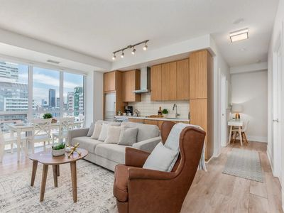 Photo for Large Luxury Condo - 3BR + 2BA + Free Parking!