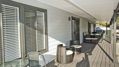 Watch the Sunset on the beautiful deck