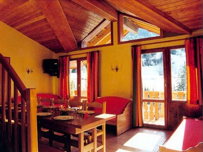 Photo for The Balconies of Val Cenis The Haut *** - 6 Room Cabin 12/14 People
