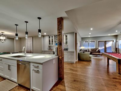 Photo for Brand New Spacious 3 Bedroom Condo with Private Hot Tub & Pool Table