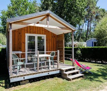 Photo for Camping Le Moustoir **** - Chalet Comfort Couple 2 Rooms 3 People