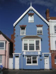 Photo for Seafront Victorian 6 bedroom house with magnificent sea views