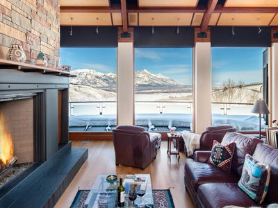 Photo for Outpost: Mountain View Escape - Unobstructed, panoramic Teton views!