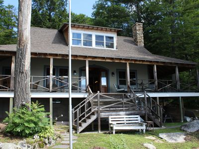 Photo for SWE175Wfa - Great Lake Winni Waterfront Home