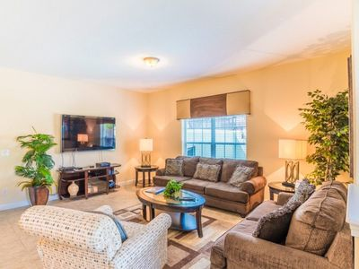 Photo for At Last You can Rent the Perfect Luxury Townhome on Paradise Palms Resort minutes from Disney World, Orlando House 1207