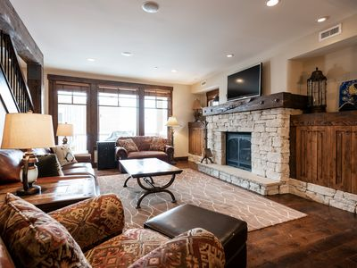 Photo for Modern ski condo, ideal for couples with on-site chairlift, concierge and winter shuttle service