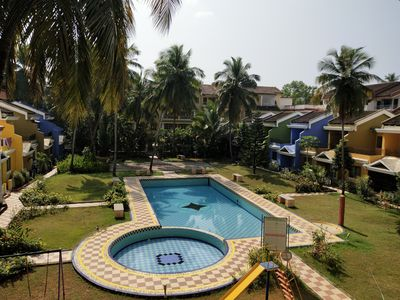 Photo for Sleek 1-Bedroom Apartment at Colva, Goa