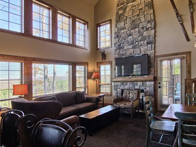 Photo for New to the program - 4 Bedroom Creekside Condo, Ski in/Ski out Luxury