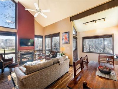 Photo for Walk to the lifts! Comfortable & Spacious Three Kings rentals in Park City.