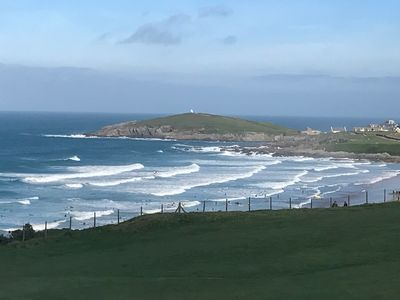 Photo for 5 Star Fistral View - A luxurious new build directly overlooking Fistral Beach