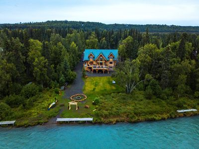 Photo for Spruce Wood Log Cabin on Kenai River