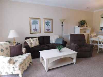 Photo for Comfy & Cozy Property In Barefoot Resort! Great for Families & Golfers!