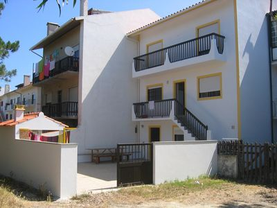 Photo for Comfortable apartment on two levels 6 minutes walk from the beach