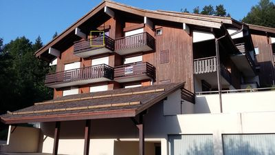 Photo for Apartment 3 *** 6 persons, living room / kitchen, 2 bedrooms, view, garage. La Clusaz
