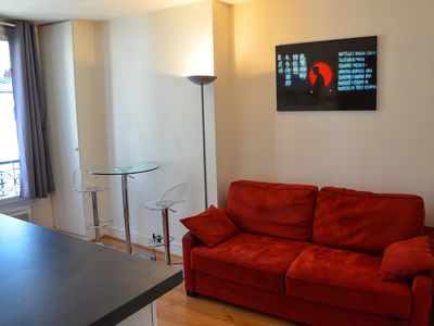 Photo for cosy apartment in the heart of montmartre