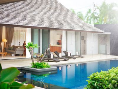 Photo for Luxurious Private Balinese Villa with huge pool