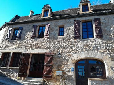Photo for House in the Heart of Beynac with views of the Medieval Village and the Dordogne