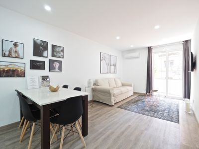 Photo for New 3 bedroom apartment in Barcelona