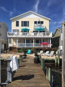 Photo for Bay Dream Believer - Waterfront, 4 bedrooms, 4 baths, Sleeps 10, Non Group Rental