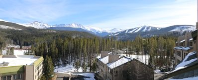 Photo for Snowblaze - Updated 2 bedroom +Loft in town - 5 min by bus to Skiing - Views!
