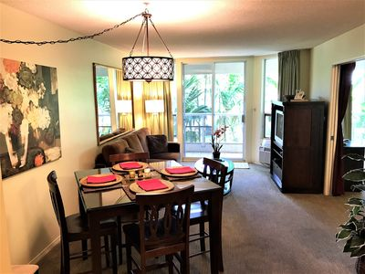 Photo for 25% Off FLASH sale! 2BD Condo Across from Beaches, Restaurants, Shopping!