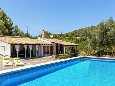 Photo for Small, nice finca with pool near Capdepera