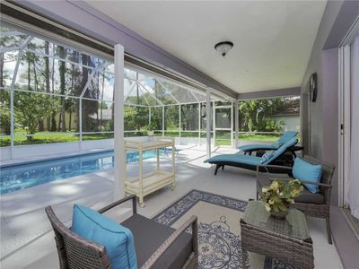 Photo for Palm Villa, 4 Bedroom, Private Pool, Screened Lanai, Washer Dryer, Sleeps 7