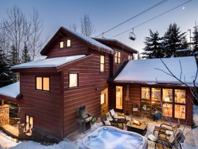 Photo for Outpost: Foxtail Lodge - Free-Standing Moose Creek with Private Hot Tub