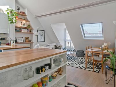 Photo for Very cosy flat for 4p near Montmartre