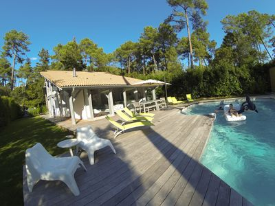 Photo for HOSSEGOR - Landes Great renovated villa with pool