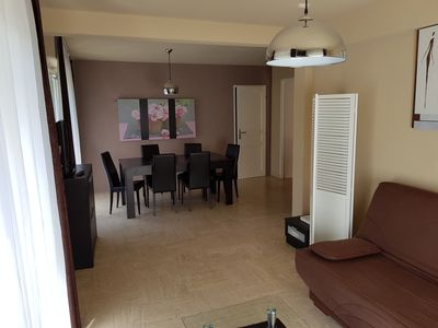 Photo for Cannes-Center Ideal Festival & Congress & Holidays Apartment 65m2 & Private Garden