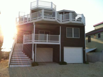 Photo for Beautiful Ocean & Bay Views - 3 Decks, 2 MBR Suites, 2 LRs, park/playground