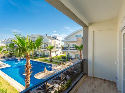 Photo for Silene Deluxe Apartment: Swimming Pool, A/C, WiFi, Car Not Required