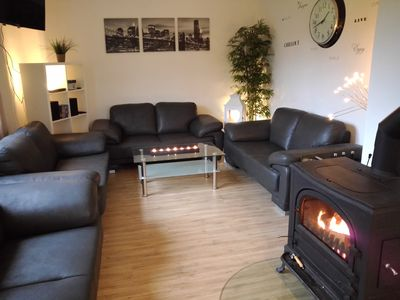 Photo for Cozy cottage for 2-20 people, large garden, sauna, table football and more.