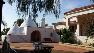 Photo for VILLA WITH TRULLO BETWEEN THE SECULAR OLIVE TREES OF OSTUNI