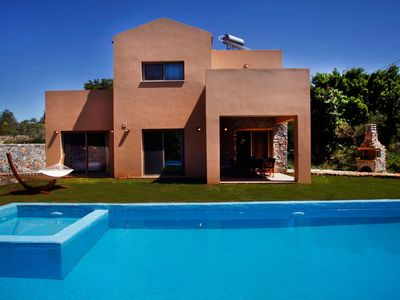 Photo for House in the center of Litsarda with Internet, Pool, Air conditioning, Parking (724863)