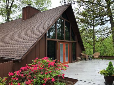 Photo for A-Cute A-Frame by Beaver Lake/downtown Rogers