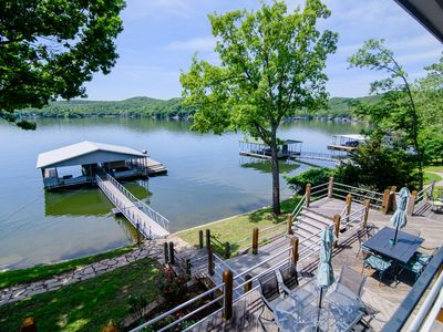 Photo for Family Fun Lake Front Vacation Home #10 of 12, 9 bedrooms, 6.5 baths, Sleeps 32