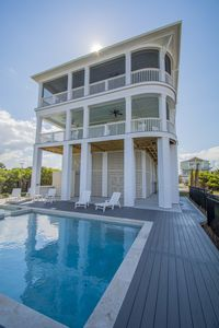 NEW CONSTRUCTION-Beachfront-7 Bedroom-6.5 Baths-Dual Living Room-Pool&Hottub