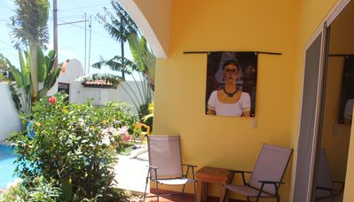 Photo for Frog - Beautiful Condo with Private Terraza, Large Pool, A/C & Parking