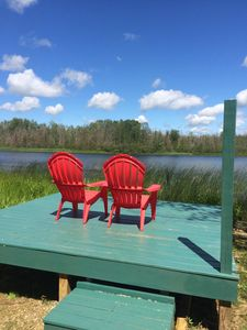 Photo for Three Charming, Peaceful Cabins on Six Mile Lake, Pet friendly
