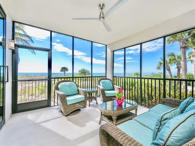 Photo for Newly Renovated Luxury Beachfront 2BD/2BA Corner Suite Condo